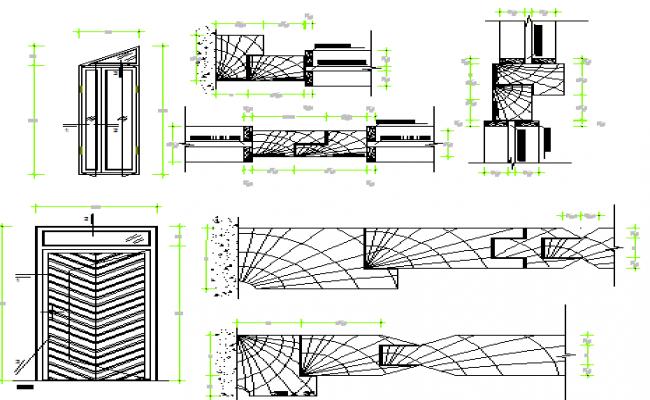 Wood Door Details : Wood door dwg sc st designscad