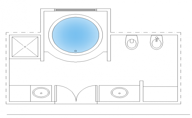 Detail sanitary bathroom structure detail plan 2d view layout autocad file