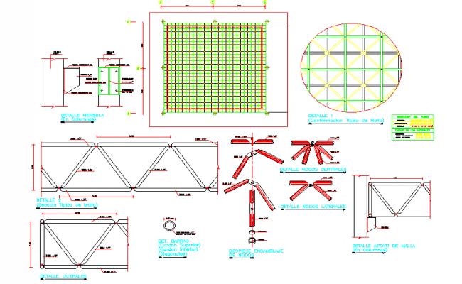 Detail space mesh