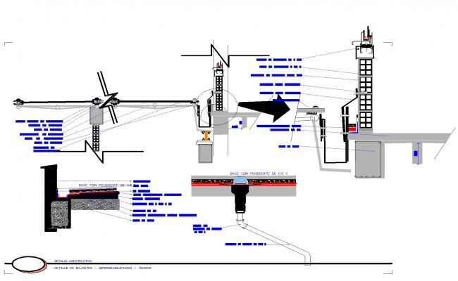 Detail uneven plan autoacd file