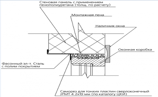 Detailed section plan