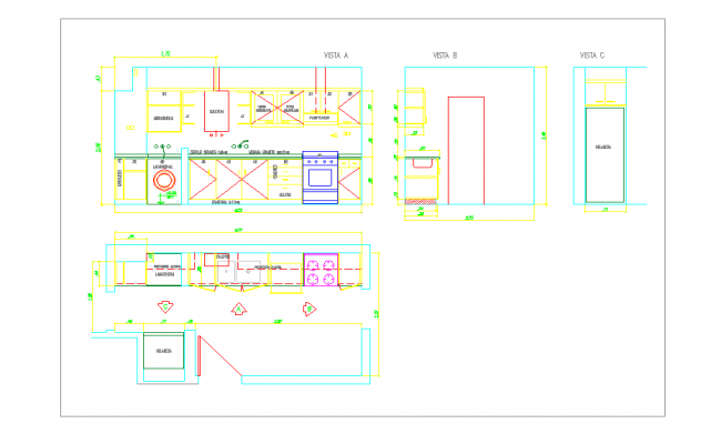 Details of Kitchen Furniture