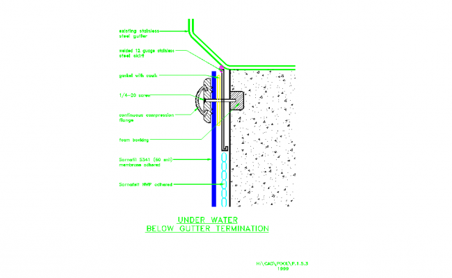 Details of Membrane Placement