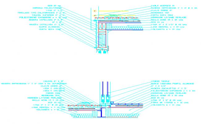 Details of a constructive Terrace