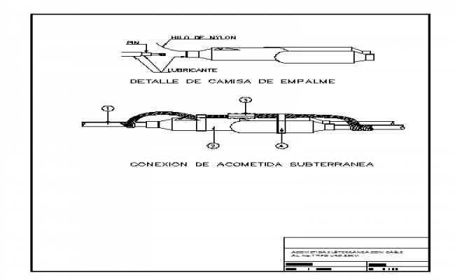 Details of an underground Connection