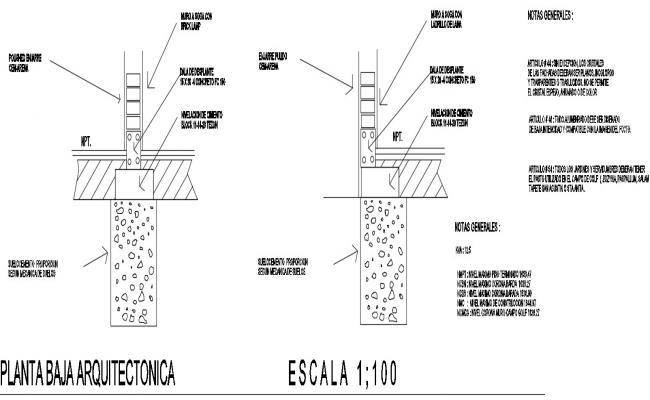 concrete masonry unit in dwg file