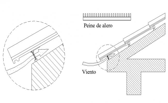 Details of eaves