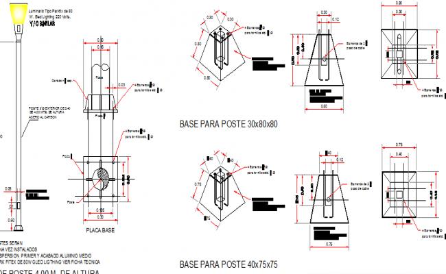 100+ Light Pole Detail – yasminroohi