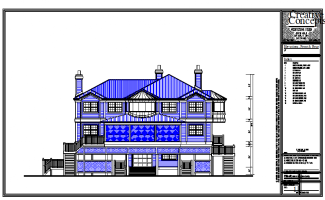 Different type of bungalow elevation