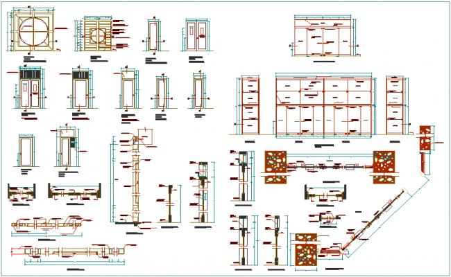 Different types door design view