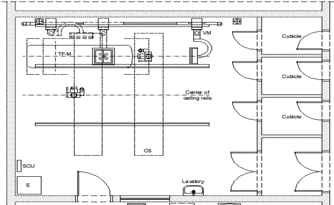 Digital Trauma X Ray Room Architecture Layout Dwg File