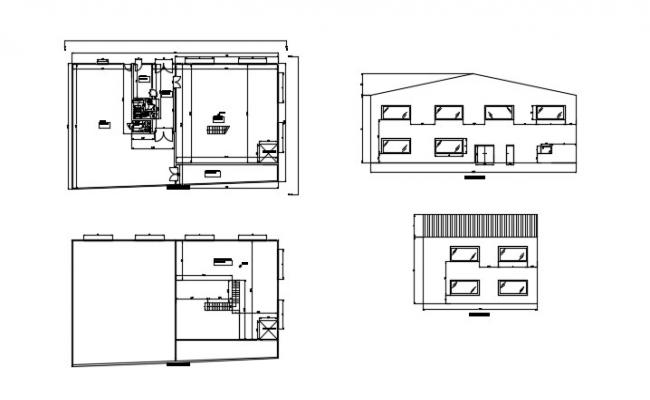 Distribution Plant In AutoCAD File