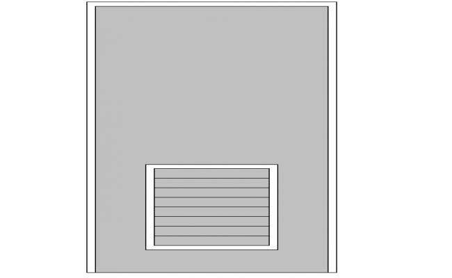 Door Block Detail In DWG file