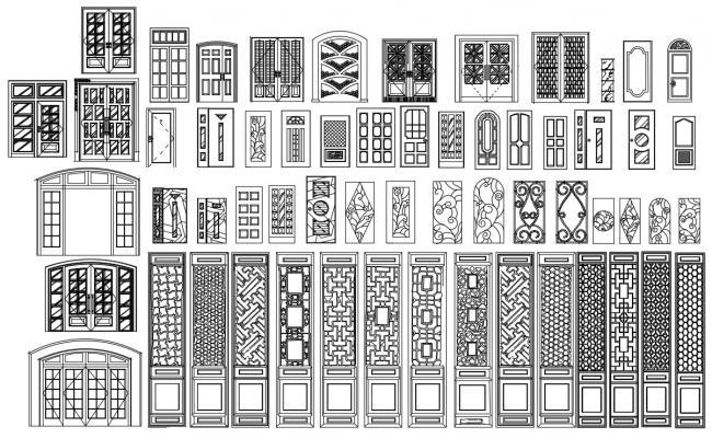 Door CAD Blocks Download