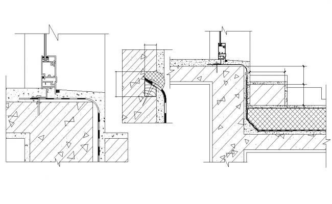 Door Design Section CAD Drawing Download