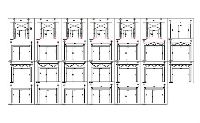 door elevation design On door elevation design
