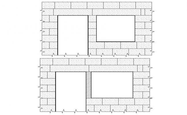 Door and Window Design CAD File