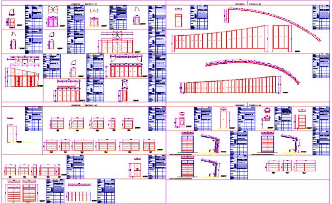 Door and Window Installation plan