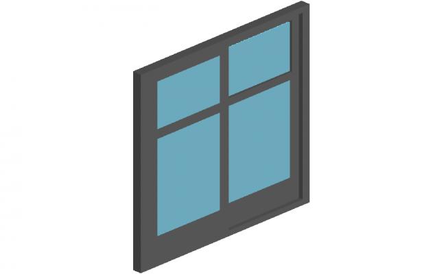 Door design 3d view for size of 150x210