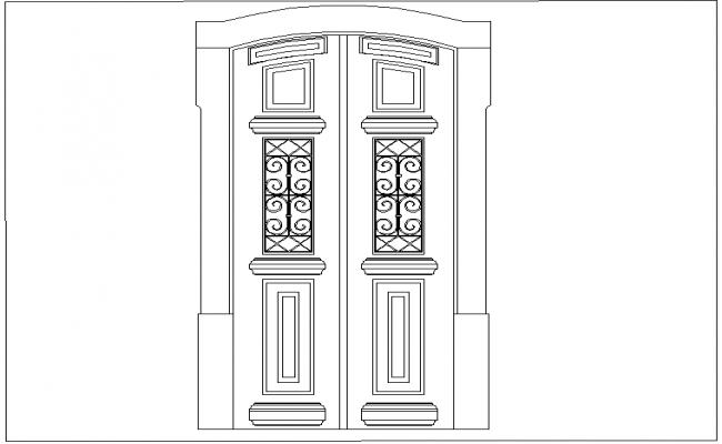 Door designer view