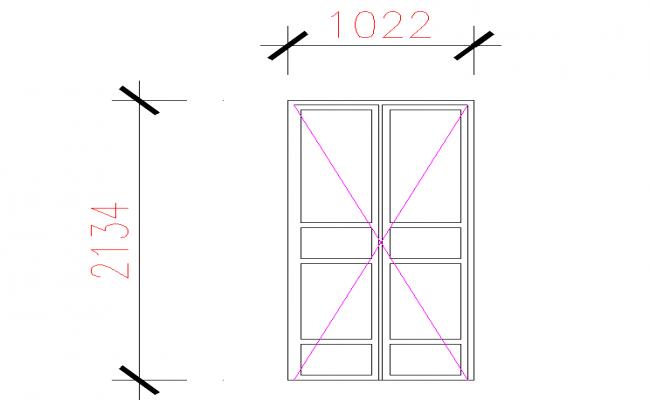 Double Side Open The Door Elevation Design