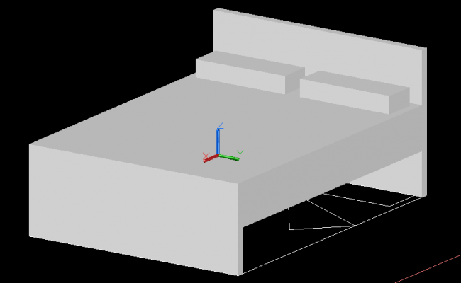 Double bed design