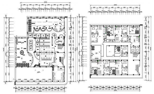 Download Apartment Building Floor Plans AutoCAD File