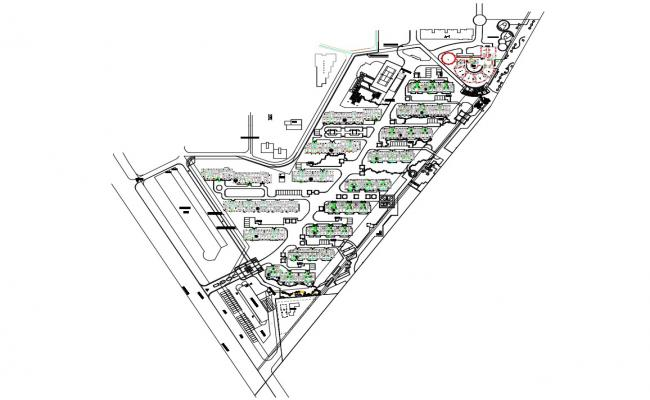 Download Apartment Master Plan Design AutoCAD File