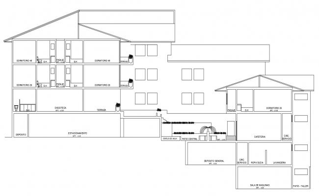 Download Building Section detail CAD drawing