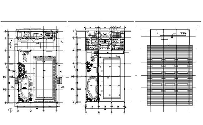 Download Clubhouse Design Plans Autocad File