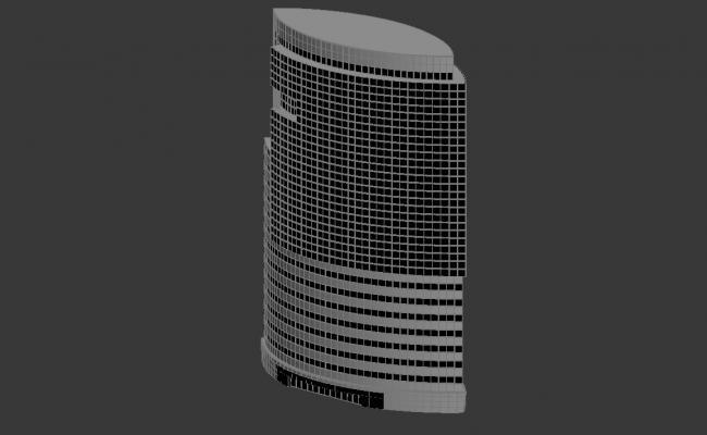 Download Commerce Building 3d Max file