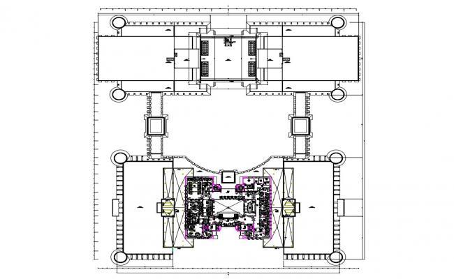 Download Commerce Building CAD File