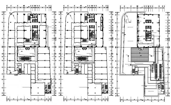 Download Commercial Building Hub Design Plan