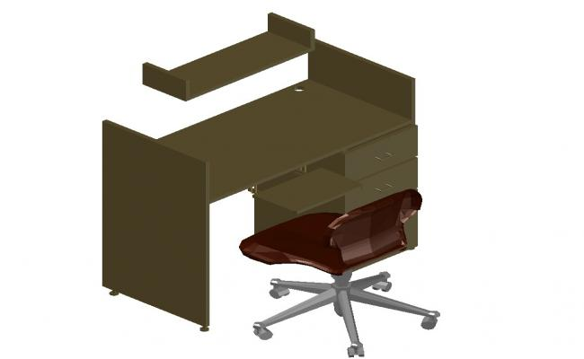 Download Computer Table 3d File