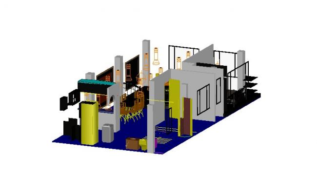 Download Free 3d House In AutoCAD File