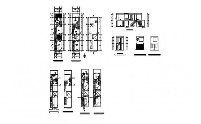 Download Free Bungalow Electrical Layout In DWG File