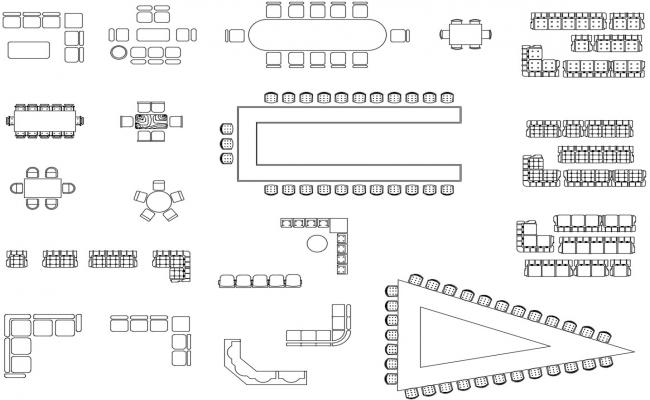Download Free Furniture CAD Blocks