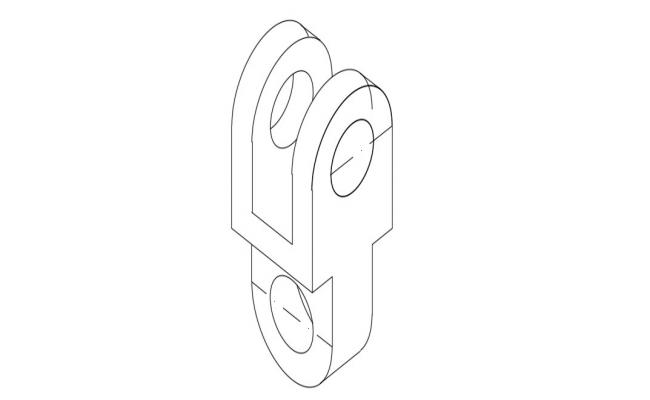 Download Free Hook CAD Block In AutoCAD File