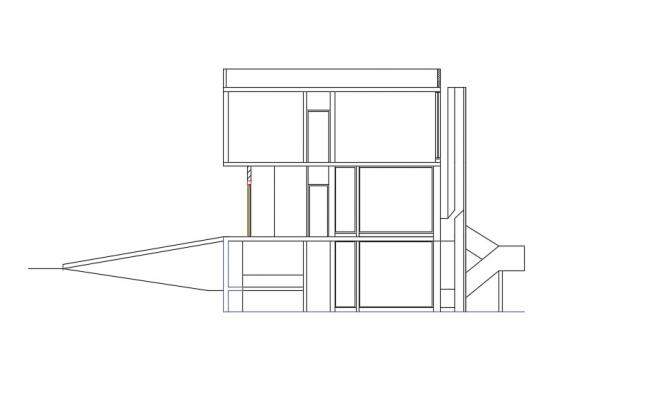 Download Free Simple House Design in DWG File