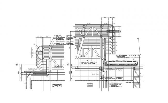 Download Free Steel Structure Drawing