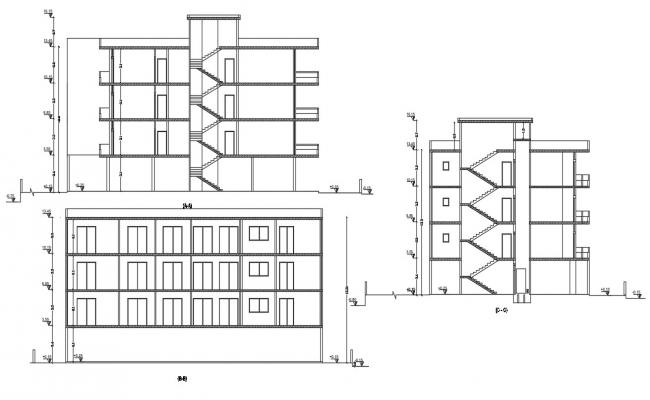 Download House Section CAD File