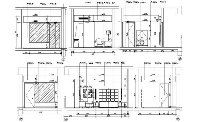Download Interior Decoration Of Drawing Room AutoCAD File