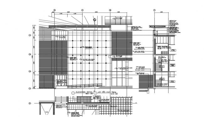 Download Office Building Project AutoCAD File