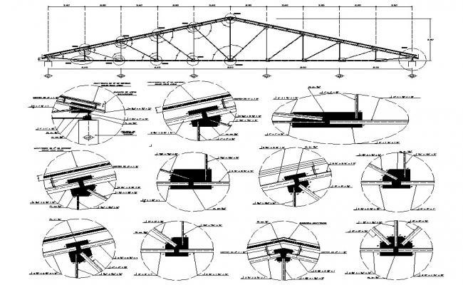Download Roof Design Plan CAD file
