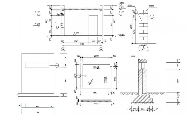 Download Room Design Plan DWG File Free