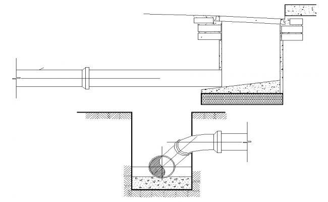 Download Sewage Chamber design AutoCAD file