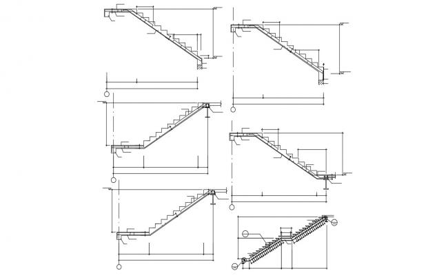 Download Staircase Free CAD drawing