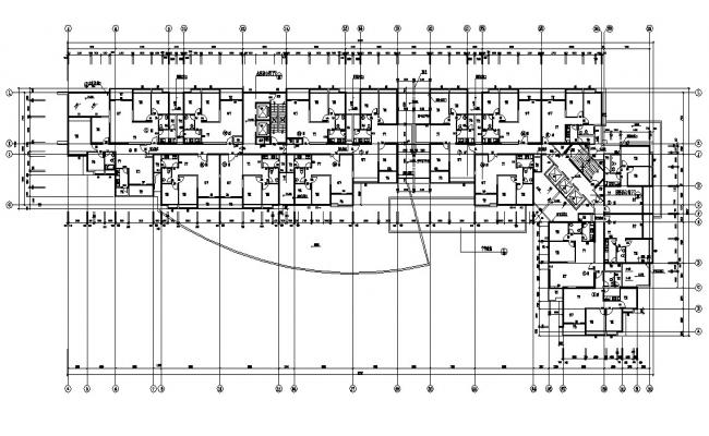 Download The Apartment Design With Working Drawing AutoCAD File