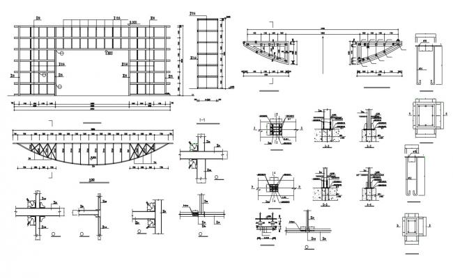 Download The Beam Reinforcement Drawing AutoCAD File
