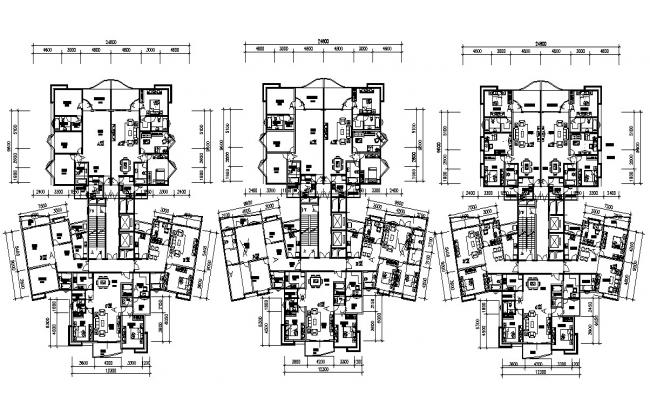 Download The Modern Apartment Design With Working Drawing AutoCAD File